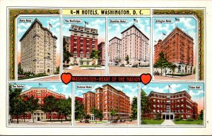 Washington D C 4-M Hotels Multi View