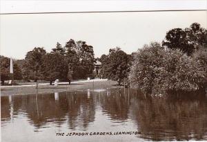England Leamington The Jephson Gardens Real Photo