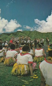 SAMOA , 50-60s ; Welcome for Astronauts from Apollo Moon Mission