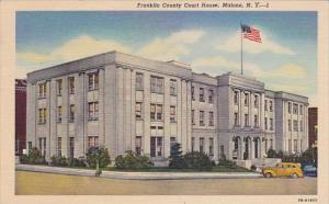 New York Malone Franklin County Court House 1955