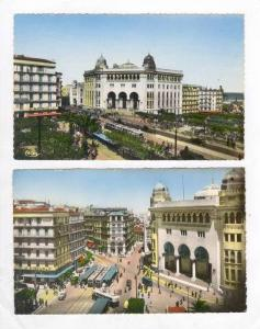 RP, 2 Cards Of Alger, Viewing La Poste, Algeria, Africa, 1920-1940s