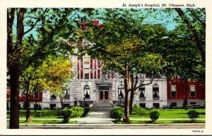 Michigan Mt Clemens St Joseph's Hospital 1948 Curteich