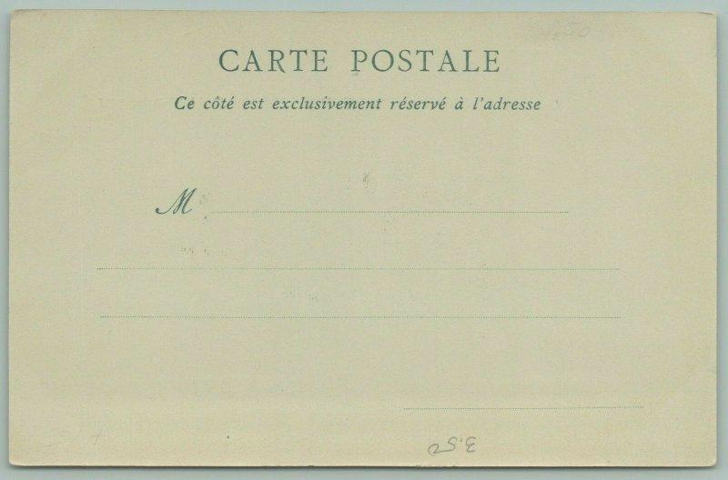 Paris France~Universal Expo~Mobile Platform~Invalids Bridge Station~Postcard