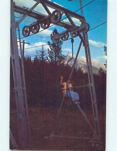 Unused Pre-1980 TOWN VIEW SCENE Banff Alberta AB p9100