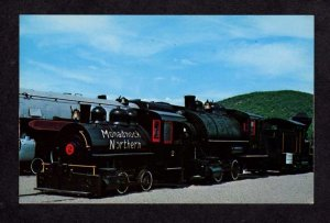 VT Monadnock Northern Railroad Train Switcher #2 Bellows Falls Vermont Postcard