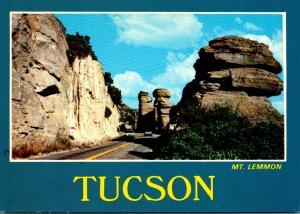 Arizona Tucson Mt Lemmon Rock Formation Along Mt Lemmon Highway