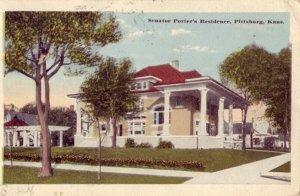 SEANTOR PORTER'S RESIDENCE, PITTSBURG, KS. 1910