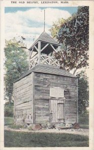 Massachusetts Lexington The Old Belfry 1921