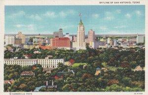 SAN ANTONIO, Texas, 1930-1940s; Skyline