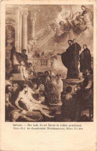 Rubens Heil Franz Xavier in Indien predigeud Kunsthistor. Staatsmuseum Wien 1928