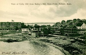 MA - Nahant. Bass Point, Colby Hill from Bailey's Hill