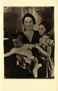 CPA AK La Reine Astrid en kon.kinderen BELGIAN ROYALTY (827840)