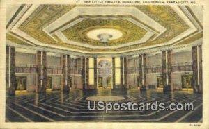 Little Theater, Municipal Auditorium in Kansas City, Missouri