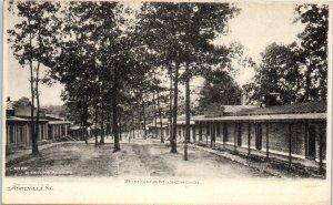 1900s Bingham Military School Asheville North Carolina Undivided Back Postcard