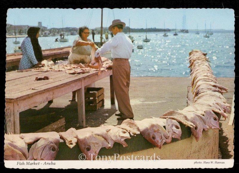 Fish Market - Aruba