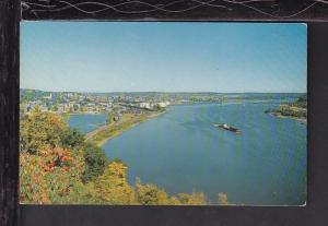Bird's Eye View,Dubuque,IA Postcard BIN