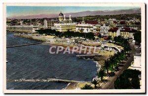 Old Postcard Saint Raphael Var view Generale