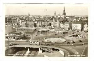 RP: Aerial View, Utsikt fran Katarinahissen, Stockhom, Sweden, 20-40s