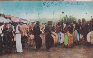 Kenya Nairobi Hunters With Their Native Gyuides 1910