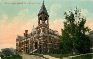 c1910 Postcard; State Normal School, New Britain CT Hartford County Unposted