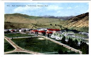 TAMMEN 4417 Park Headquarters, Yellowstone National Park