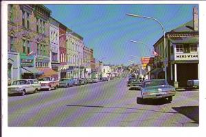 Main Street, Mount Forest, Ontario, 50's Cars