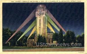 Charity Tower Detroit MI 1940