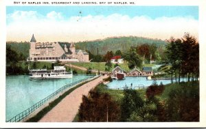Maine Bay Of Naples Bay Of Naples Inn Steamboat and Landing