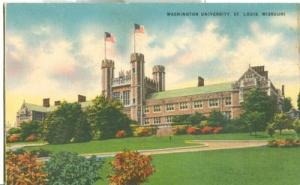 Washington University, St. Louis, Missouri, unused linen ...