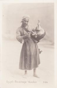RP Egypt - Arab man Beverage Vendor #2, 1910-20s