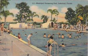 Florida Lakeland Municipal Swimming Pool Curteich