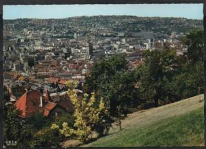 Post Card Stuttgart Germany  Blick auf die Stadt