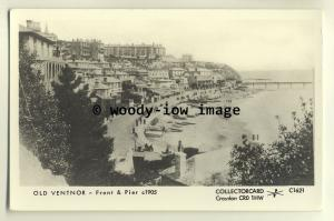 pp1624 - Ventnor Seafront and Pier c1905 - Pamlin postcard