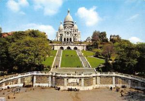 France Paris et ses Merveilles La basilique du Sacre Coeur Montmartre