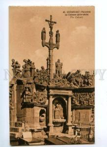 164460 GUIMILIAU France CALVAIRE Calvary Tomb Vintage postcard