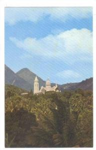 Balata church, Fort de France, Martinique, French West Indies, 40-60s