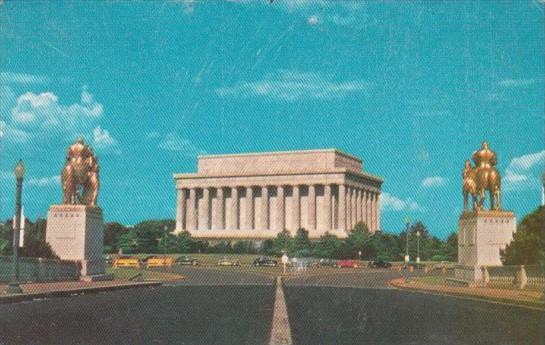 Washington DC The Lincoln Memorial