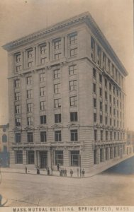 RP: SPRINGFIELD , Massachusetts, 1900-10s ; Mutual Building