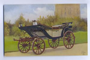Q1680 - Ascot Landau at Windsor Castle - Royalty Postcard