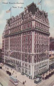 Hotel Knickerbocker, New York, PU-1916
