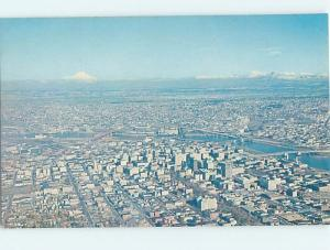 Unused Pre-1980 AERIAL VIEW Portland Oregon OR H9821