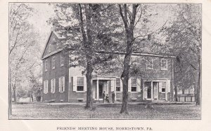 NORRISTOWN, Pennsylvania, 1900-10s; Friends' Meeting House
