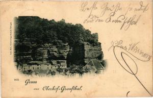 CPA Gruss aus Oberhof-Graufthal (369229)