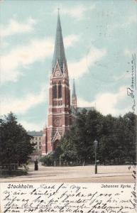 STOCKHOLM, Sweden, PU-1908; Johannes Kyrka