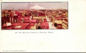 Oregon Portland Mt Hood and Portion Of City