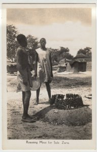 Nigeria; Roasting Meat For Sale, Zaria RP PPC From CMS Bookshop, Unused
