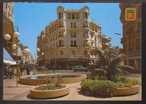 Prince Moulay Abballah Street Casablanca Postcard BIN