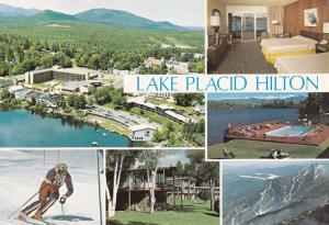 LAKE PLACID , New York , 50-70s ; Hilton Hotel