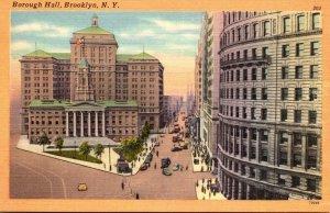 New York Brooklyn Borough Hall