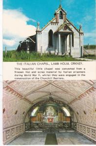 Postcard Scotland Orkney Lamb Holm The Italian Chapel